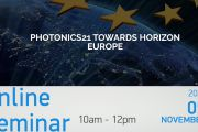 Photonics21 towards Horizon Europe online seminar